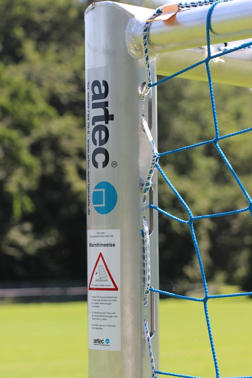 soccer goal profile with integrated net suspension (premium)