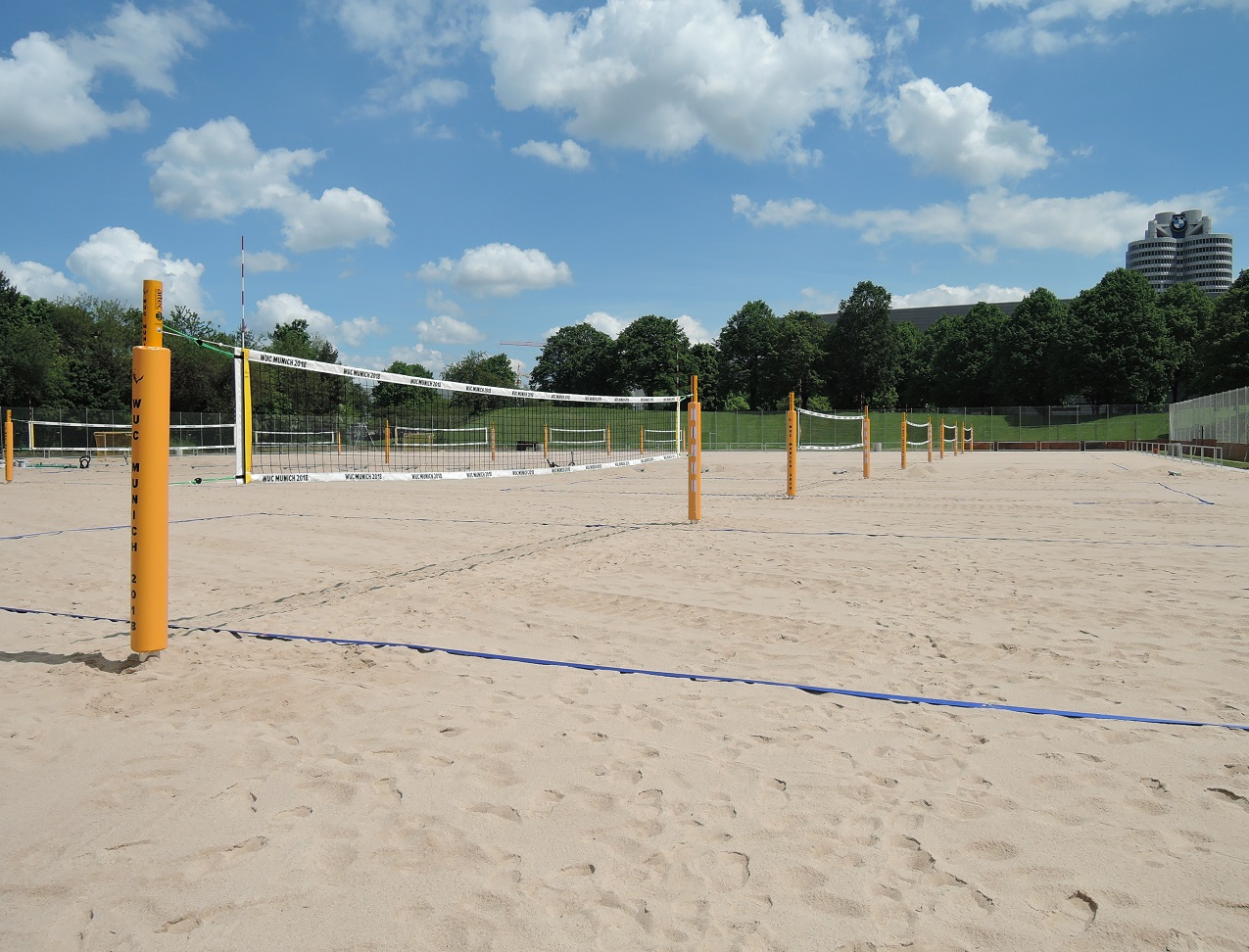 volleyball facilities from manufacturer artec