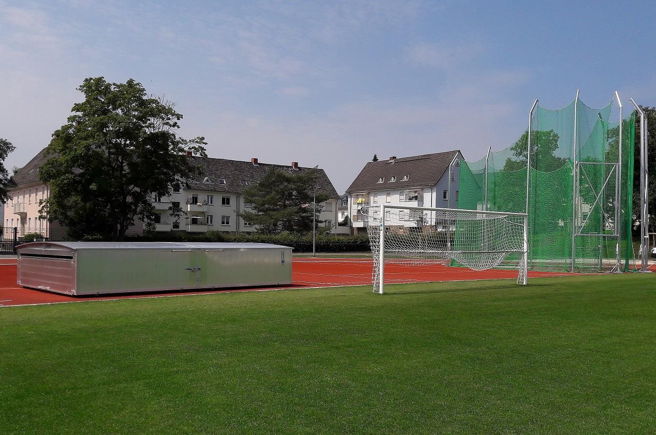 Athletics equipment for University of Giessen