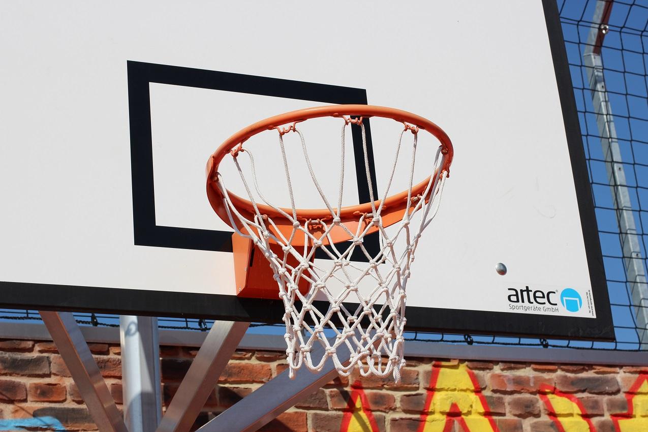Sports park Freiham in Munich Basketball Unit