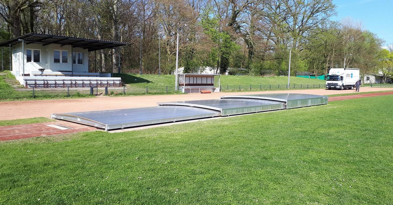 sandpit cover long jump pit