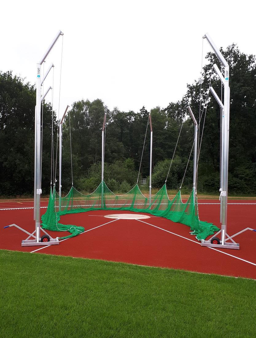 aluminium by manufacturer artec discus cage 5,50 m IAAF