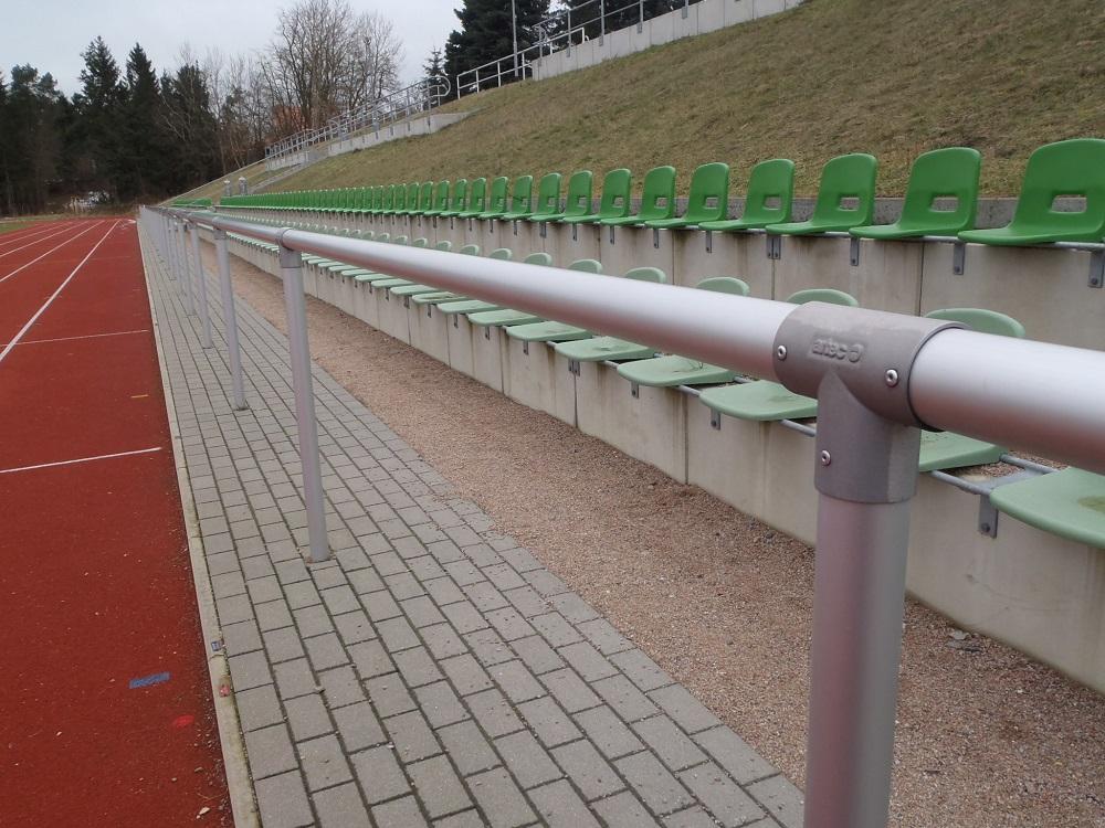 Barriere Systeme Sportplatz Aluminium Hersteller