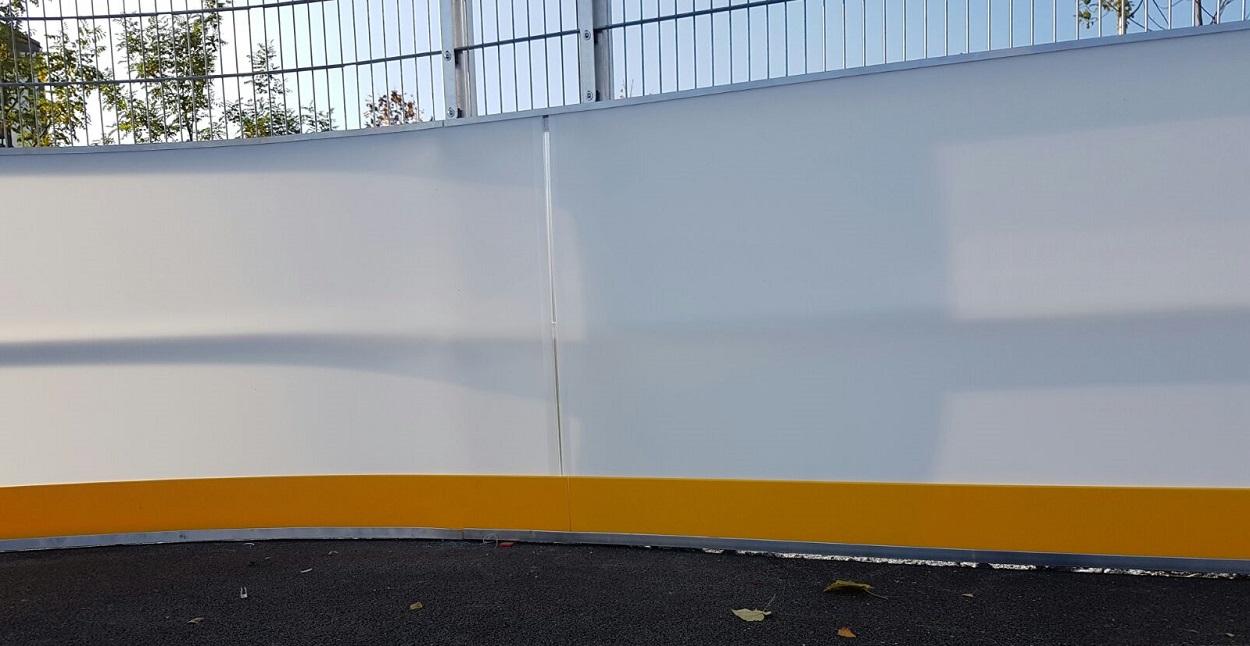 Runde und ovale Soccer Cages mit Zaun