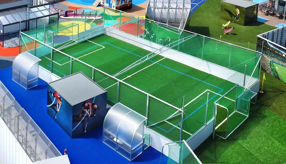 Soccer Cages Halle Outdoor Hersteller