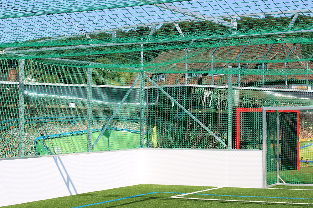 abf4a6ef0d9 Soccer cages for indoors or outdoors with goals from manufacturer