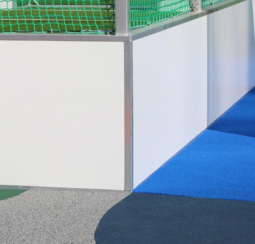 Soccer Cages mit Werbebande Alu oder Stahl