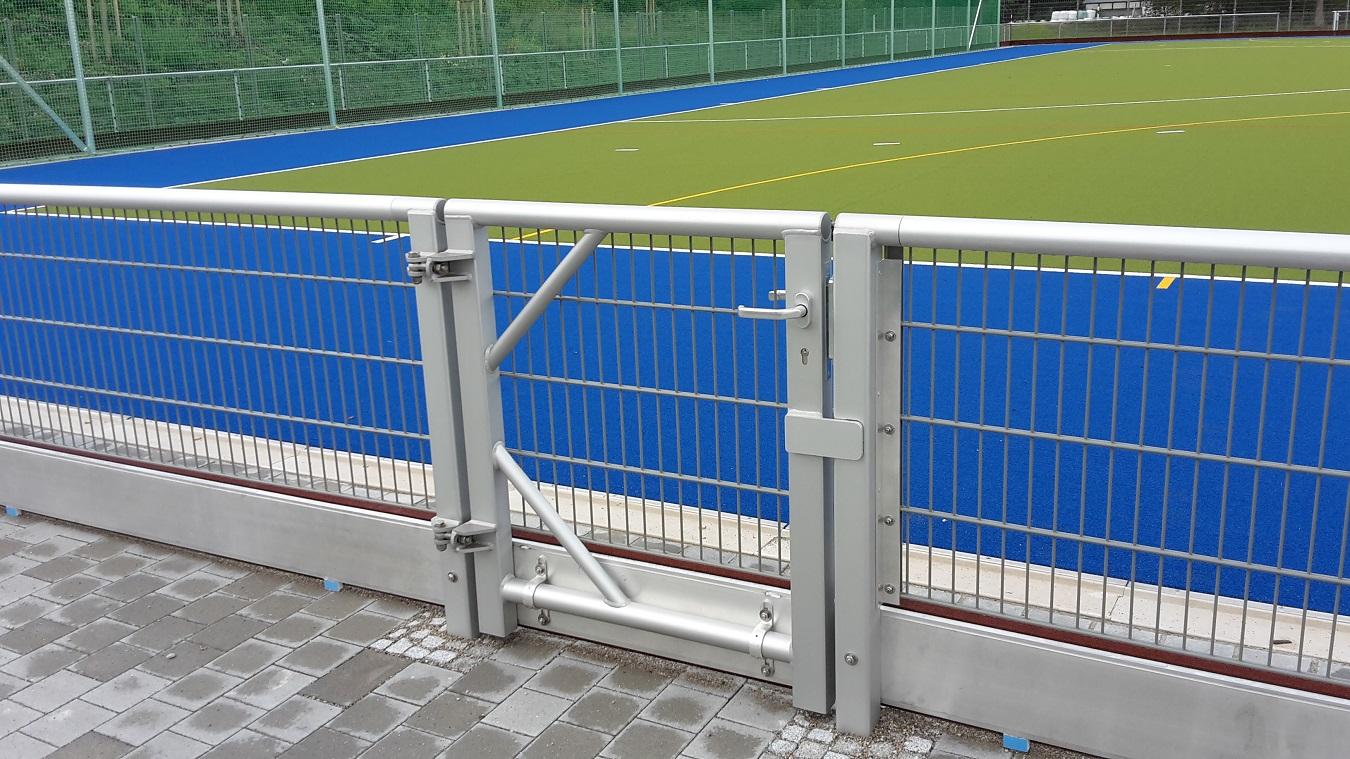 Barrieresysteme mit Gittermatten verzinkt