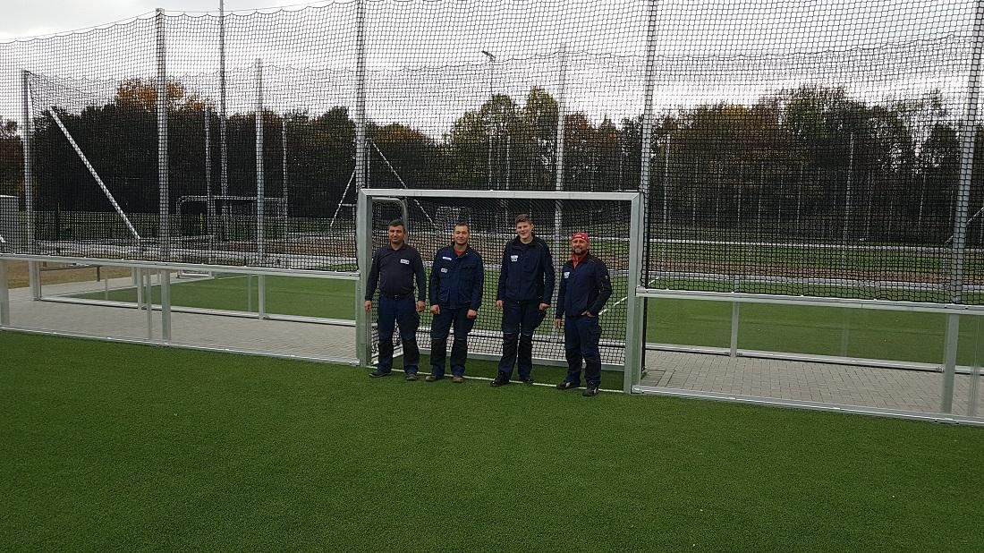 Minispielfelder Montage 30 x 15 m Soccer Court