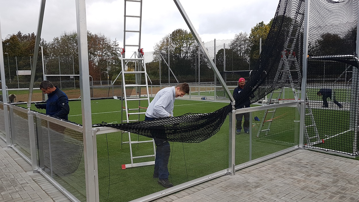 Montage Minispielfelder 20 x 13 m Soccer Court
