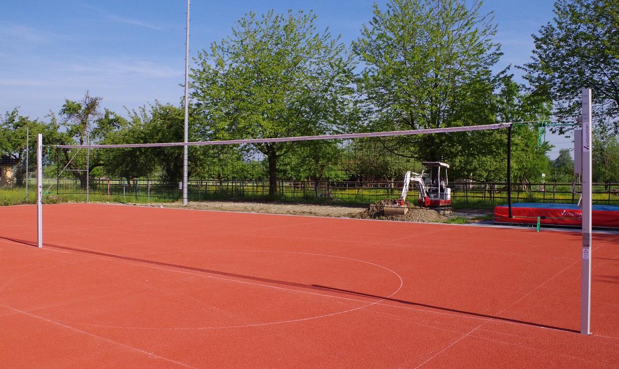 Volleyballanlage in der Schweiz