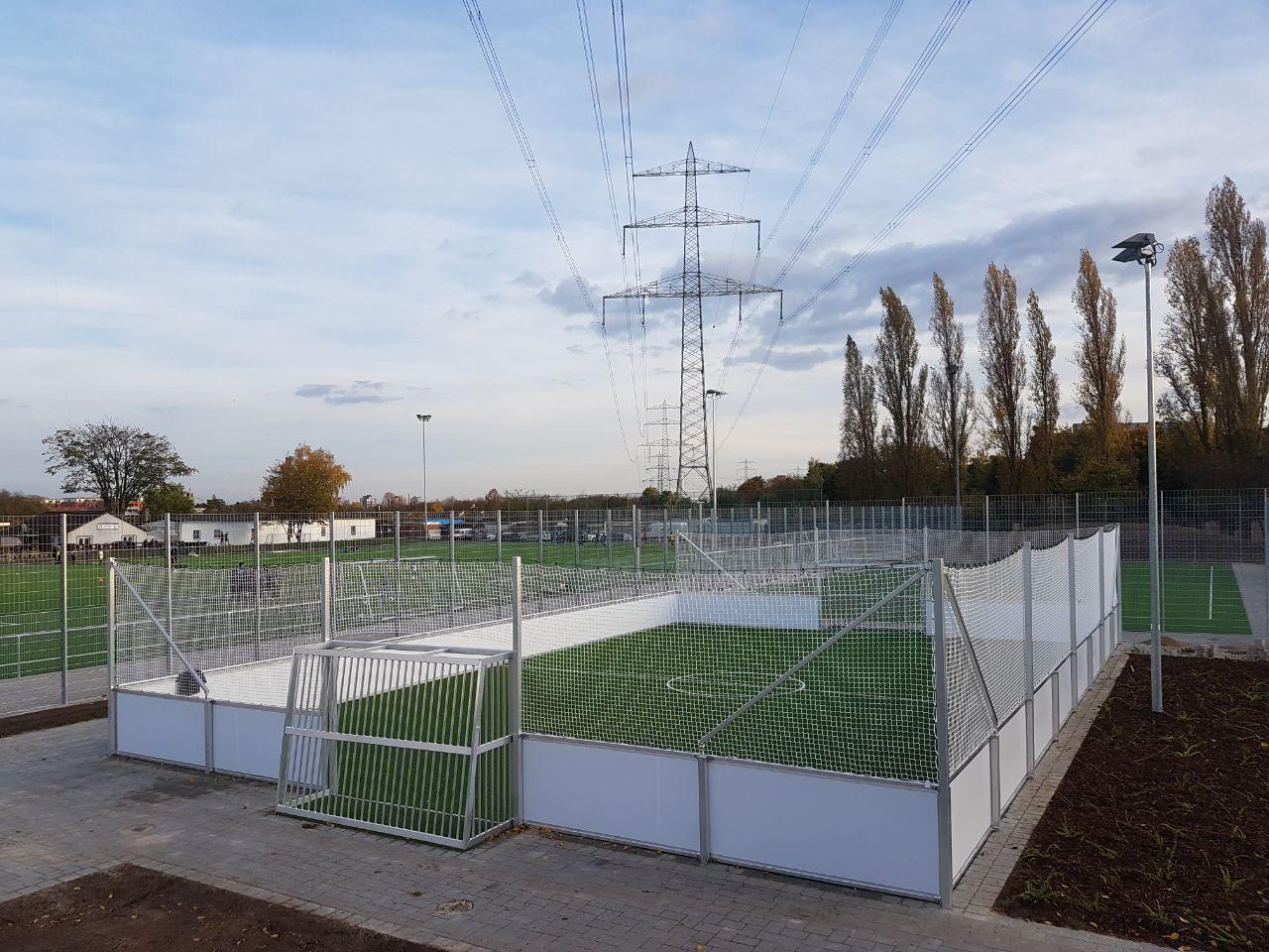 13 neue Soccer Courts in Deutschland vom Hersteller artec