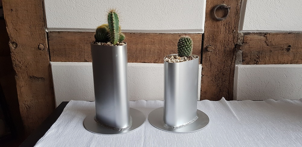 Recycling Deko Blumenvase