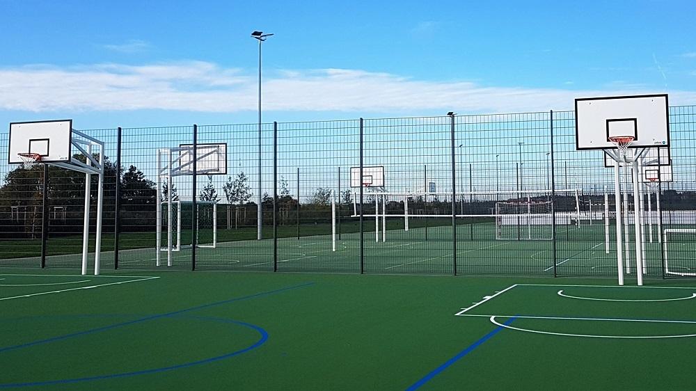 basketball unit sports ground