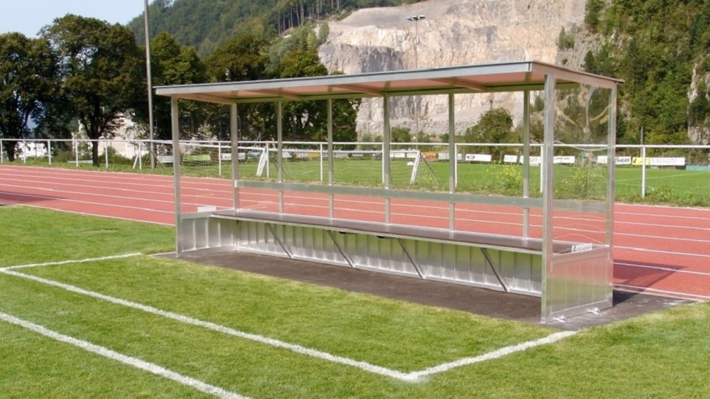 dugout for sport facilities