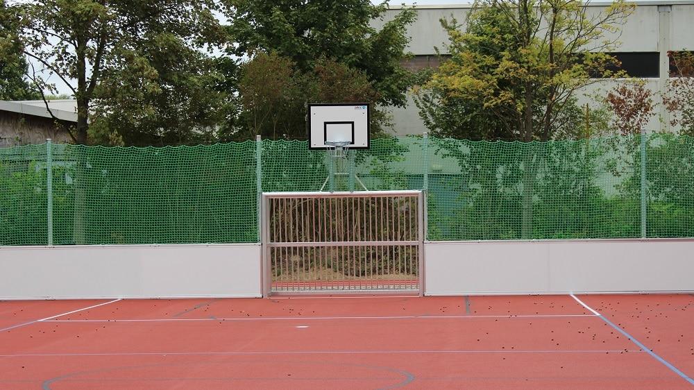 Tor mit Basketballkorb von artec
