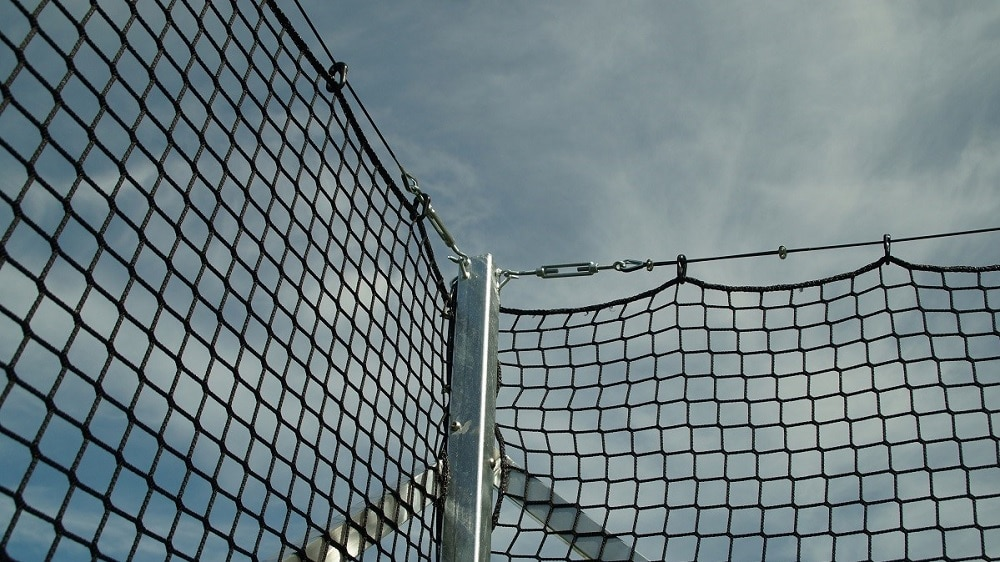 ball stop net for football