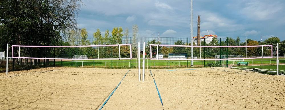 Beachvolleyballanlage auf Sportanlage