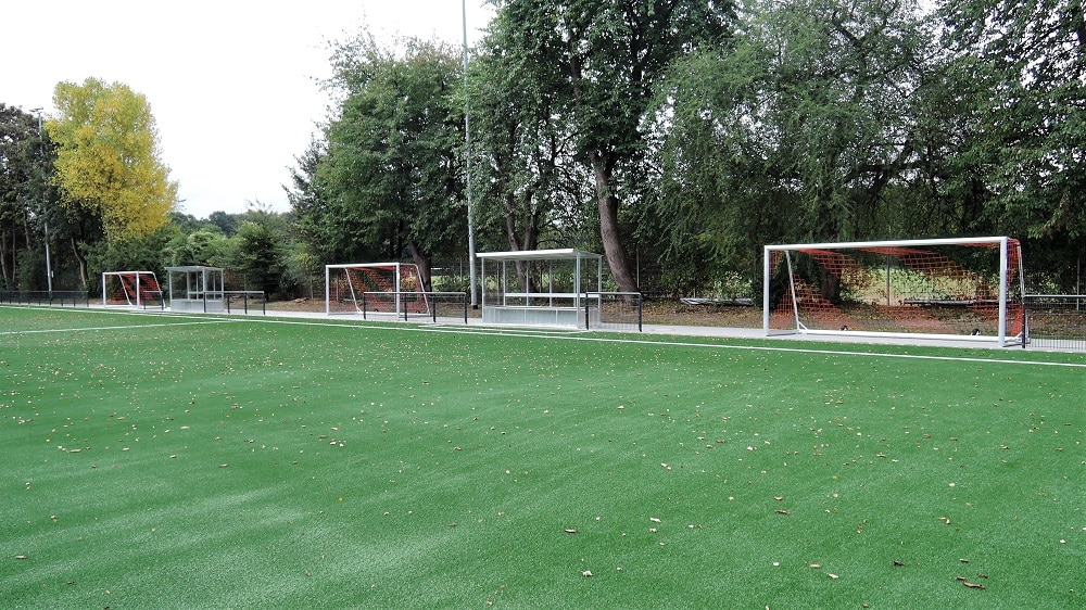 Nachhaltiger Sportplatz