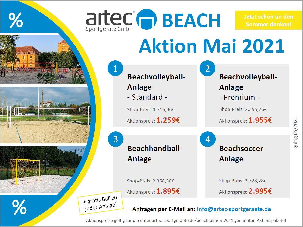 artec - Beach-Aktion 2021