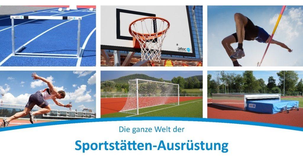 Nachhaltige Sportanlagen mit artec Sportgeräte
